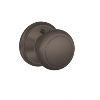 Schlage F170 And Dummy Knob 613 Oil Rubbed bronze