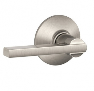 Schlage F10 Lat Latitude Passage Door Lever Set Low