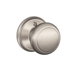 Schlage F170 And Dummy Knob 619 Satin Nickel