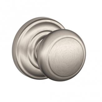 Schlage F170-AND-AND Andover Single Dummy Door Knob with Andover Rose (619)