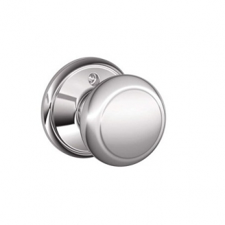 Schlage F170 And Dummy Knob 625 Bright Chrome