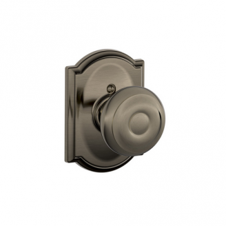 Schlage F170PLY620CAM Plymouth Single Dummy Door Knob with Camelot Rose