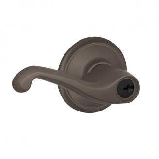 Schlage Flair F51A-Fla-613 Keyed Entry 613 Oil Rubbed Bronze 613