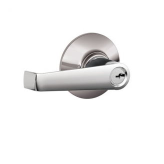 Schlage Elan F51 Ela Keyed Entry 625 Bright Chrome