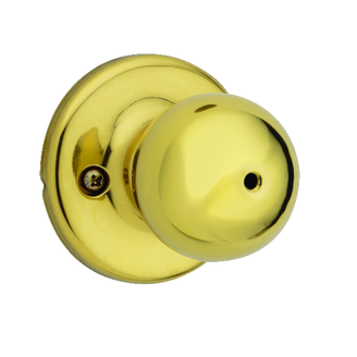 Weiser GAC331Y Privacy 3 Polished Brass
