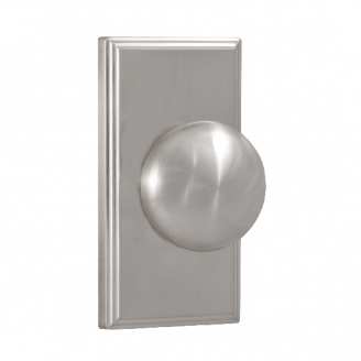 Weslock 1710I Privacy with Square Rose Satin Nickel