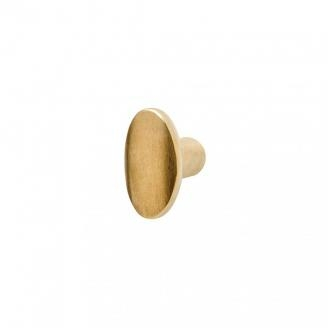 Rocky Mountain KB40 Small Squash Knob in Silicon Bronze Brushed Patina