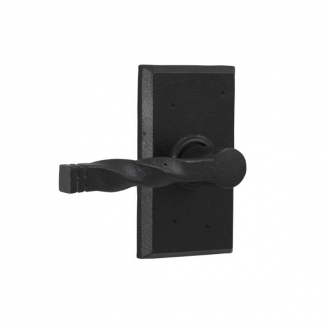 Weslock 7305N Monoghan Dummy Lever with Square Rose Black