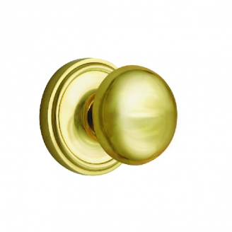 Nostalgic Warehouse New York Privacy Mortise with Classic Rose Polished Brass