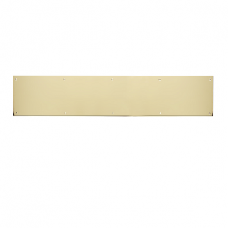 Brass Accents Kick Plate 6