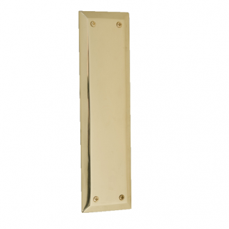 Brass Accents Quaker Push Plate