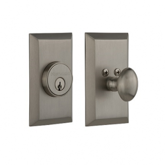 Nostalgic Warehouse STUSGL Studio Single Cylinder Deadbolt