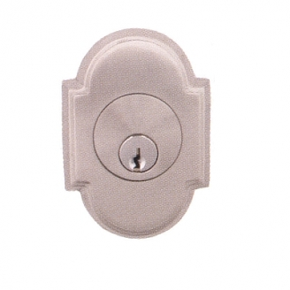 Emtek 8466 #8 Single Cylinder Deadbolt Satin Nickel (US15)