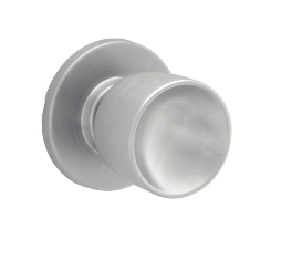Schlage Commercial A Series Tulip knob Passage (A10S) shown in Satin chrome 626