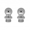 Baldwin Solid Brass Ball Finial Polished Chrome (260)