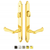 Emtek 1371 Configuration #3 Brass CONCORD Style Multi-Point Trim for Patio Doors