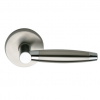 Omnia 15 Stainless Steel Door Lever Latchset Brushed Stainless Steel (US32D)