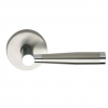 Omnia 18 Stainless Steel Door Lever Latchset Brushed Stainless Steel (US32D)