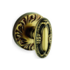 Omnia 294 Knob Latchset Shaded Bronze (SB)