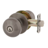 MaxGrade 300WAT15A Watson Keyed Entry Door Knob Set Antique Nickel