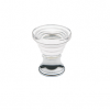 Baldwin Crystal Cone Cabinet Knob (4354, 4355) shown in Polished Chrome (260)