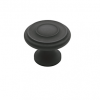 Baldwin Dominion Cabinet Knob (4490, 4491) shown in Oil Rubbed Bronze (102)