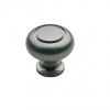 Baldwin Deco Cabinet Knob (4492, 4493, 4494) shown in Antique Nickel (151)
