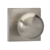 Omnia 458SQ-15 Colonial Door Knob Set with Square Rose