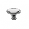 Baldwin Decorative Oval Cabinet Knob (4915) shown in Polished Chrome (260)