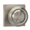 Omnia 565SQ-15 Traditional Door Knob Set with Square Rose