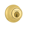 Kwikset 660-SMT 3 Polished Brass