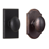 Weslock 7110M 7310M Durham Privacy Knob shown with Square and Premiere Rose