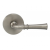 Omnia 785MD-15 Traditional Door Lever Set with Modern Rose