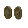 Emtek 8372 #11 Style Double Cylinder Deadbolt Medium Bronze (MB)