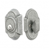 Emtek 8461 #1 Style Single Cylinder Deadbolt Satin Steel (SS)