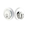Emtek 8467 Modern Single Cylinder Deadbolt Polished Chrome (US26)
