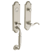 Baldwin Estate 85350 Manchester Handleset Satin Nickel (150)