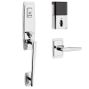 Baldwin Estate 85396.260.B Palm Springs EVOLVED SMART Bluetooth 3/4 Escutcheon Handleset