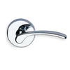 Omnia 890 Lever Latchset Polished Chrome (US26)