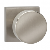 Omnia 935SQ-15 Modern Door Knob Set with Square Rose