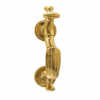 "Brass Accents A04-K5800 American Door Knocker (9"")"