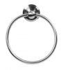 Emtek S7300 Stainless Steel Towel Ring with Beveled Rose Brushed stainless Steel