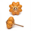PotteryVille Yellow Flower Cabinet Knob