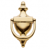 Baldwin 0102 Colonial Door Knocker in Lifetime Polished Brass (003)