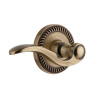 Grandeur Bellagio Lever with Newport Rose Vintage Brass (VB)