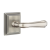 Emtek Wembley Door lever with Wilshire Rose Antique Pewter (US15A)