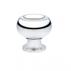 Emtek Atomic Cabinet Knob Polished Chrome (US26)