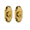 Nostalgic Warehouse COTDBL Cottage Double Cylinder Deadbolt