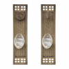 Brass Accents D05-K535 Arts and Crafts Collection Deadbolt Plate