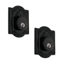 Nostalgic Warehouse Meadows Double Cylinder Deadbolt Oil Rubbed Bronze (OB)